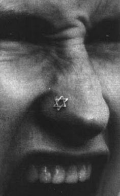 Interesting to know - Orthodox Jews do allow nose piercings, since Rebecca from the Bible had one. However you only see them on the hippy Jews (who I love of course :)