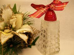 Vintage salt shaker ornament