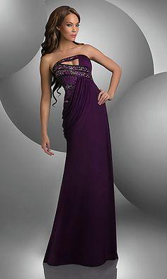 Strapless Bari Jay Dress