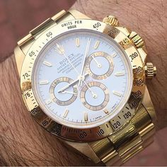 Rolex via @dappermen