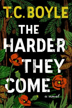 Book Cover Illustration and Hand Lettering for 'The Harder They Come'. © Jim Tierney 2014
