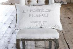 Linen Throw Pillows | French Decorative Pillows