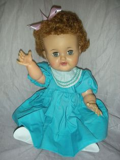 betsi wetsi, 1st doll, favorit doll, curly hair, wetsi doll