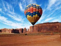 monument valley, arizona hot, air balloonin, hot air balloons