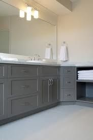 Pretty grey cabinetry