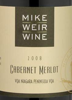 Mike Weir Wine - Cabernet Merlot 2008