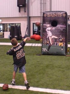 Saints Mini QB Toss