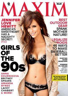 Maxim, April 2012, Jennifer Love Hewitt