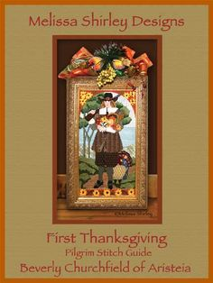 Melissa Shirley Designs | Hand Painted Needlepoint | Thanksgiving