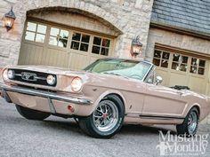 1966 Mustang. PINK.