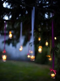 Hanging candle light