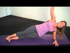 Lose the Love Handles - Side Plank Muffin Buster Exercise