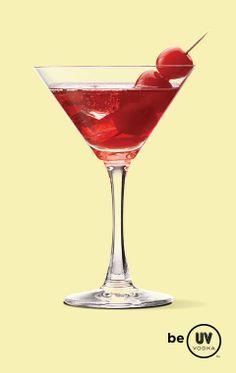 Cherry Cheesecake...1 part UV Vanilla  2 parts cranberry juice  1 dash of grenadine