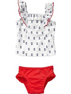 Old Navy | Ruffled Tankinis for Baby