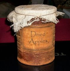 Primitive Pantry Jar Labels and Grungy