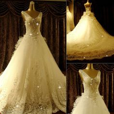Cinderella wedding dress ItemCode:10927055 without the bow on the back
