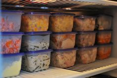 Cooking in Bulk has Freezer potential!