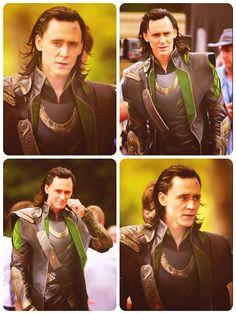 Not gonna lie...kind of crushing on Loki.