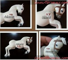 tutorial for making cake horse