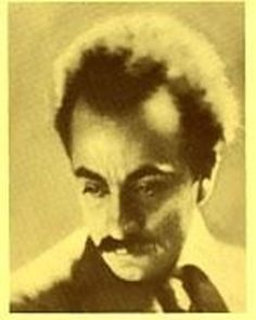 Kahlil Gibran, was an artist, poet and writer.