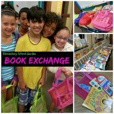 End of the Year Book Exchange to Build a Summer Collection of Books