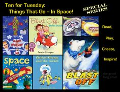 Things That Go! In Space!!