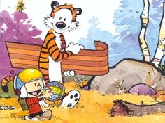 Calvin and Hobbes - calvin-and-hobbes wallpaper