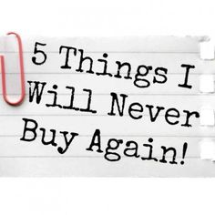 Here are 5 things that I'll never buy at the #grocery store again! #homemade #natural #healthy #food #beauty