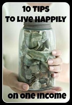 Great Tips! Living on one income can be tricky
