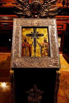 Bible w/Wood from Jesus' Cross (see link for details)
