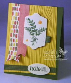 Create with Connie & Mary Challenge 323. Stampin' Up! For All Things. Debbie Henderson, Debbie's Designs.