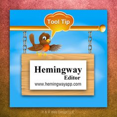Photo: Tuesday Tool Tip: The Hemingway App is a tool that analyzes text and aims to make your writing bold and clear. The program highlights overly complicated words, hard to read sentences, suggests alternatives and more.   Have you tried the Hemingway App yet?  #BloggingTips #WritingTips H/t Rebekah Radice