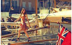 Quartier d'été | Siri Crafoord | Michael Woolley #photography | Marie Claire France August 2012