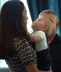 Kate Middleton's First Mother's Day this Sunday!  Prince George is THE cutest baby!  We can't even handle it.