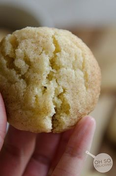 Soft SnickerDoodle Cookies - Cookies - Desserts - Recipe Index