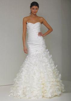 elegant and whimsical - my kind of dress!