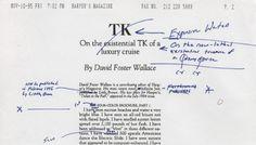 essays van david foster wallace