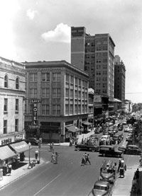 Jacksonville, Florida in 1950.