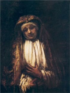 The Virgin of Sorrow - Rembrandt