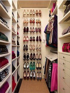 shoe racks, shoe racks, shoes in closet, hanging shoes
