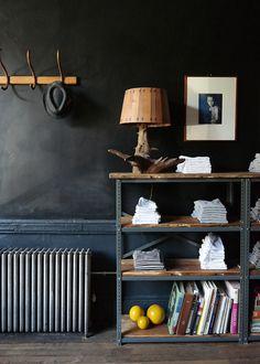 vintage items, black walls, goatmilk, vintage stuff, goat milk