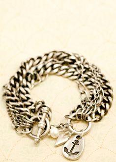 love is my anchor bracelet
