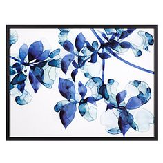 Add our Abloom print for a touch of stunning sapphire on your wall.