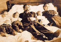 Whole family taken down by ax murderer. full story ???