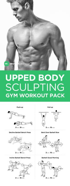 Visit https://WorkoutLabs.com/workout-packs/upper-body-sculpting-gym-workout-pack-for-men-women to download this Upper Body Sculpting Gym Workout Pack for Men & Women