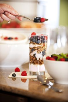 Breakfast -Yogurt #jumpstart #womenshealthmag #americaneggboard
