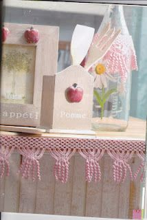 SANDRA CROCHET: bordure rose