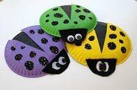 Kid crafts! Ladybugs