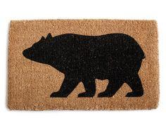 Bear Door Mat | I love this!