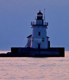 Waiting to Shine 8x10 art photograph lighthouse by ThoreauFair, $20.00